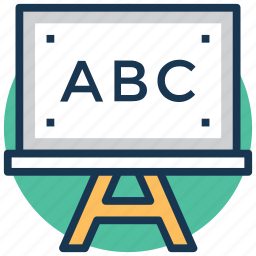 abc, basic learning, classroom, early learning, learning icon