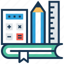 encyclopedia, learning material, literature, professional training, teaching material icon