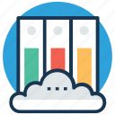 cloud education, cloud library, ebook, education technology, sky docs icon
