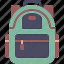 backpack, bag, education, school