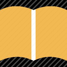 book, education, learn, learning, open, school icon