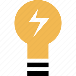 brilliant, bulb, education, idea, learning, light, school icon