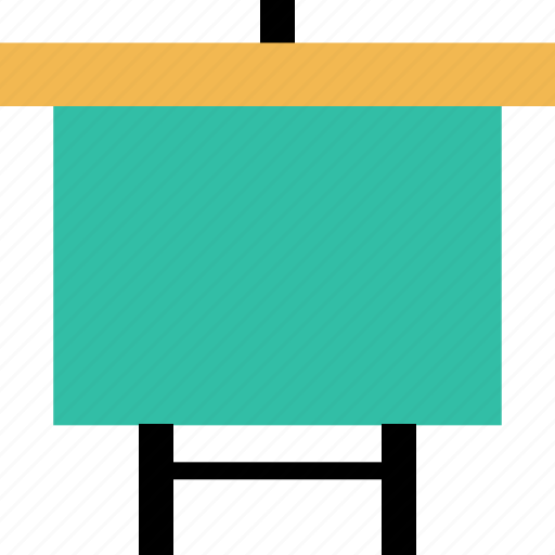 board, education, learning, presentation, school icon