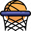 ball, basketball, game, net, play, sport icon