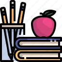 book, education, intelligent, knowledge, learn, learning, study icon