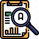archive, clipboard, education, exam, file, grade, test icon