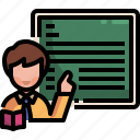 blackboard, education, information, job, presentation, teacher, training
