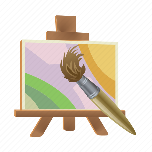 art, brush, color, drawing, paint, painting icon