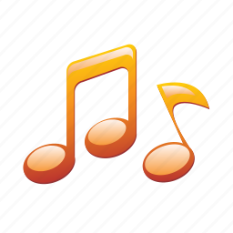 audio, music, note, sign, sound icon