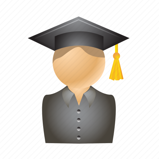 cap, education, graduation, student, study icon