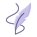 education, learning, quill, school, study, writing icon