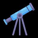 education, learning, school, stars, study, telescope icon