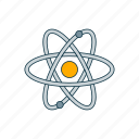 atom, color, molecule, physics icon