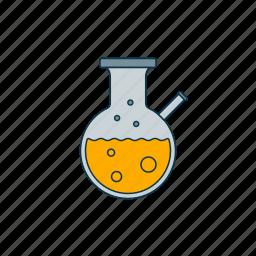 chemistry, color, laboratory, testtube icon