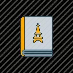 color, french, language, literature icon