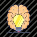 creative, creative thinking, innovation, innovative idea, innovative solution, innovative thinking, thinking icon