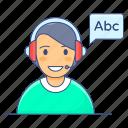 audio learning, audio listening, english test, listening, listening test, oral test, test icon