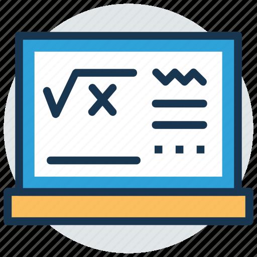 algebra, formula, geometry, math function, mathematics icon