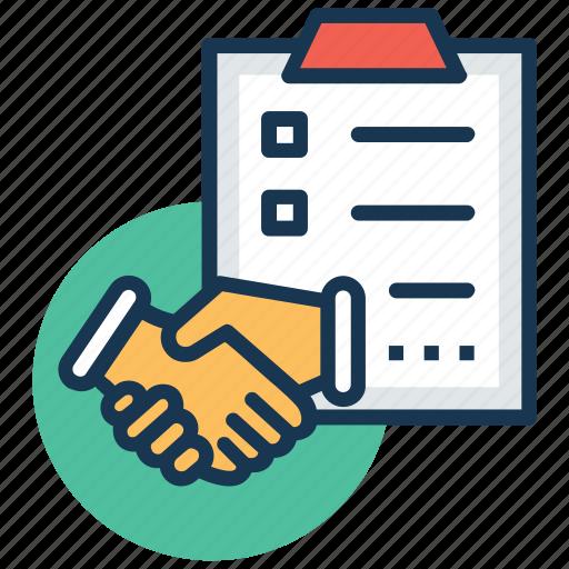 agreement, deal, partnership, partnership deed, shake hands icon