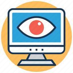 analysis, inspection, overview, preview, view icon