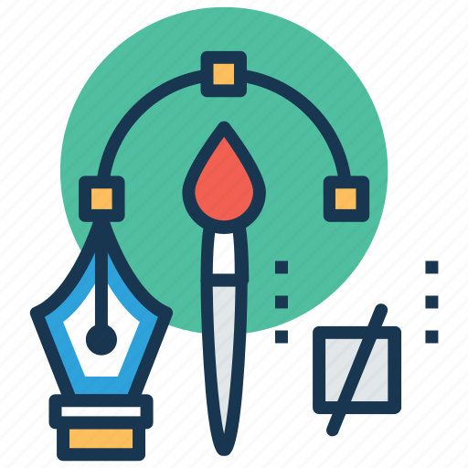 creativity, design tools, graphic designing, illustration, photoshop icon