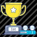 1st, position, 1st position, trophy, achievement, reward, success