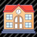 university, school, educational institute, educational building, academic university icon