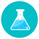 erlenmeyer, flask, conical flask, lab practical, erlenmeyer flask, chemical testing, chemical flask icon