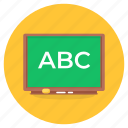 writing, board, writing board, chalkboard, lecture board, kindergarten education, school board icon
