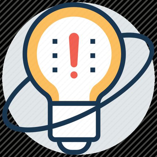 bright idea, bulb idea, creative light, innovation, inspiration icon
