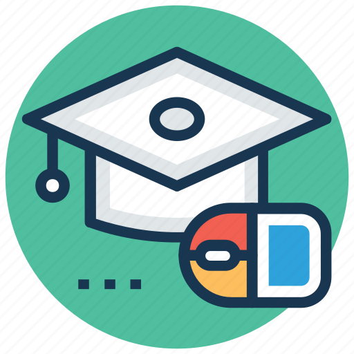 distance learning, elearning, modern education, online degree, online learning icon