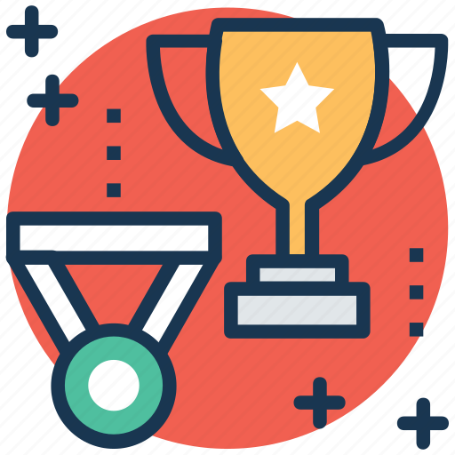 achievement, medal, rewards, success, trophy icon
