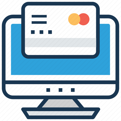 credit card, e banking, online payment, online transaction, payment method icon