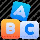 alphabet, abc, letter, blocks, block, cubes