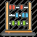 abacus, math, mathematics, calculate