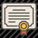 certificate, degree, diploma, certification