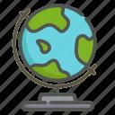 globe, earth, world, map