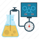 chemistry, formula, laboratory, screen, tube icon