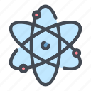 atom, chemistry, education, knowledge, lab, physics, science icon