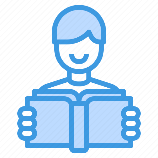 education, learning, reader, school, student, study icon