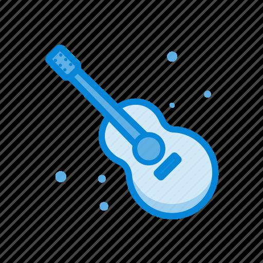 education, guitar, multimedia, music, sound icon