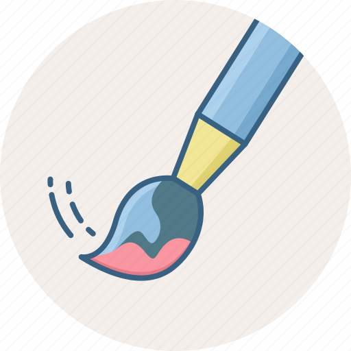 art, brush, design, draw, drawing, paint, painting icon