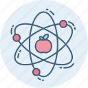 atom, atomic, molecule, physics, science icon