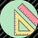 geometry, creative, design, measure, ruler, tool, triangle