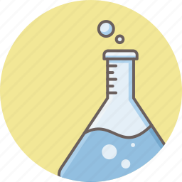 chemical, chemistry, flask, lab, research, science, tube icon