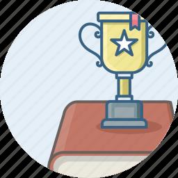achievement, cup, prize, trophy, win, winner, winning icon