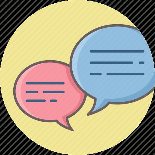 bubble, chat, comment, conversation, message, talk, tweet icon