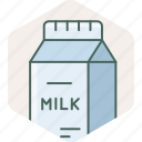 bottle, breakfast, drink, milk, beverage