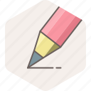 edit, office, pen, pencil, work, write, writing icon