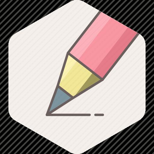 edit, office, pen, pencil, work, write, writing icon